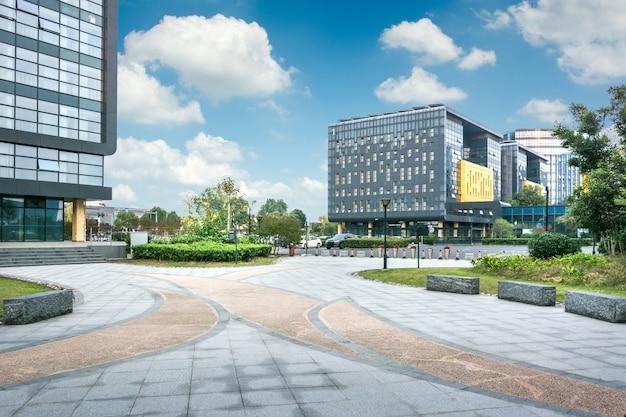 Modernes geschäftsgebäude in china
