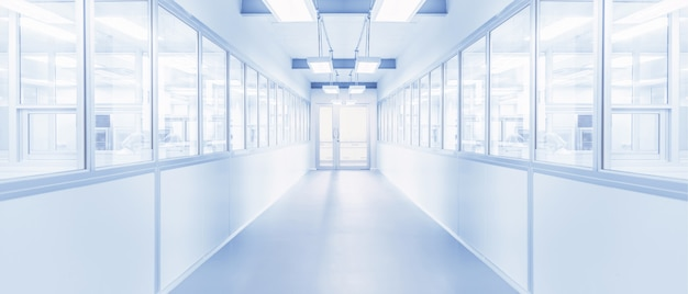 Modernes interieur des wissenschaftslabors