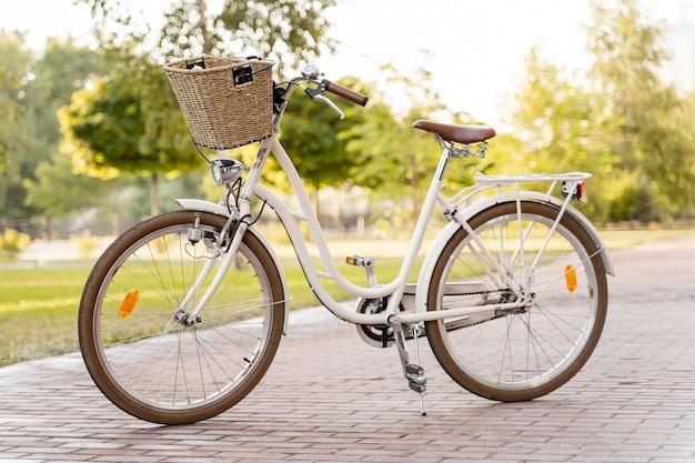 Modernes umweltfreundliches fahrrad