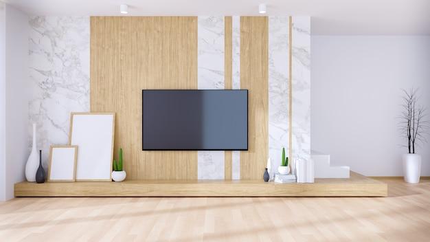 Modernes und luxuriöses interieur im wohnzimmerstil