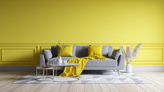 Modernes wohnzimmer-innendesign