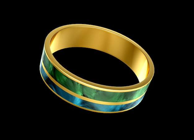 Modisches armband, verziert mit einem edelstein, glas.