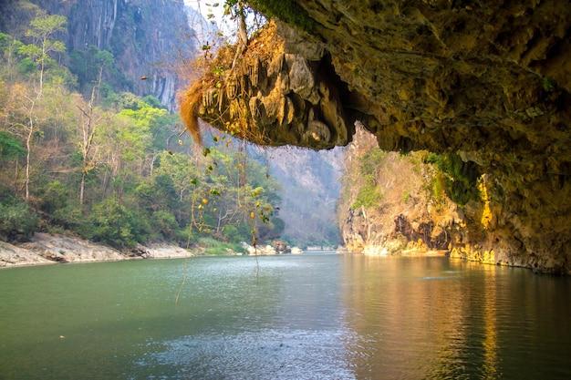 Moei-fluss thailändisches myanmar