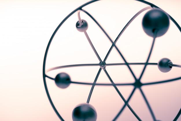 Molekül- und dna-modell