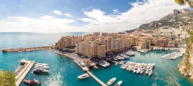 Monaco fontvieille stadtbild