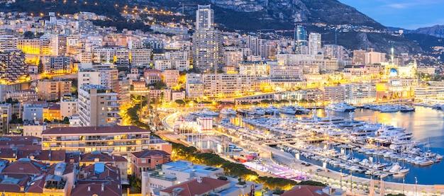 Monaco monte carlo hafen