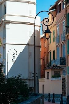 Monaco straßen sonniger tag reisen europa