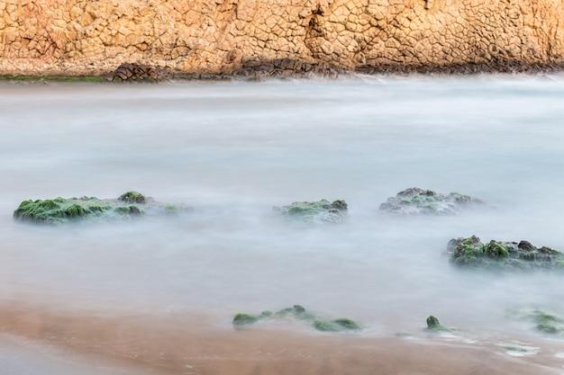 Monsul strand. san jose. naturpark von cabo de gata. spanien.