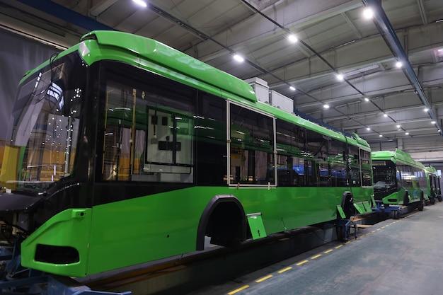 Montageproduktion von städtischen elektrofahrzeugen