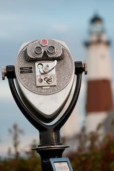 Montauk point leuchtturm in den hamptons