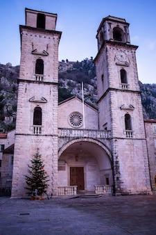 Montenegro, kotor, 10.01.2020 jahre, die kathedrale von saint tryphon