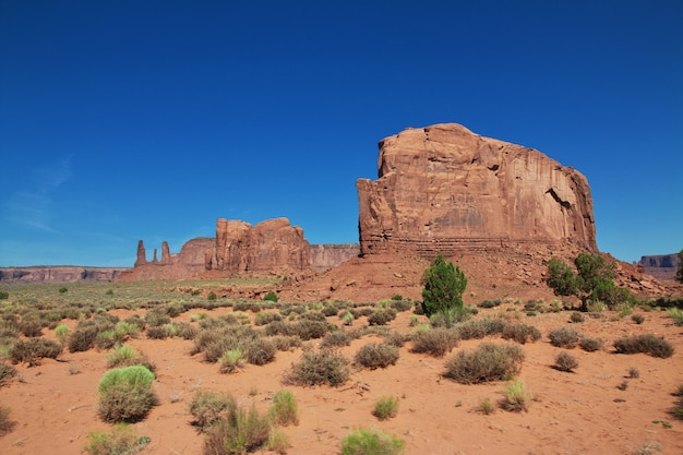 Monument valley in utah und arizona