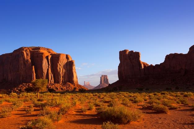 Monument valley north fensteransicht utah