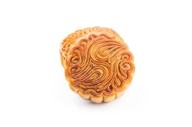 Mooncake, chinesisches mittherbstfestessen.