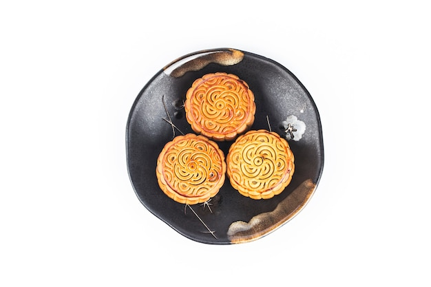 Mooncakes für chinesische mid autumn festival feier