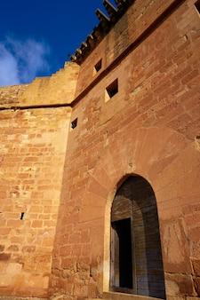 Mora de rubielos castle in teruel spanien
