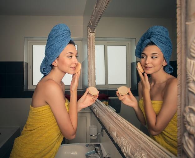 Morgen beauty-routine