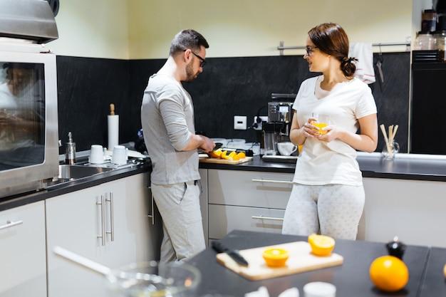 Morgen in der küche