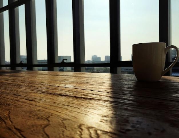 Morgen-kaffee-stadtbild-szene