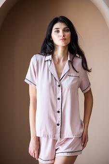 Morgen pyjama für frauen
