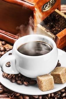 Morgen tasse kaffee