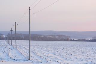 Morgen, winter