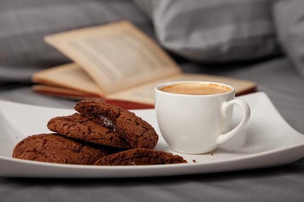 Morgenkaffee im bett