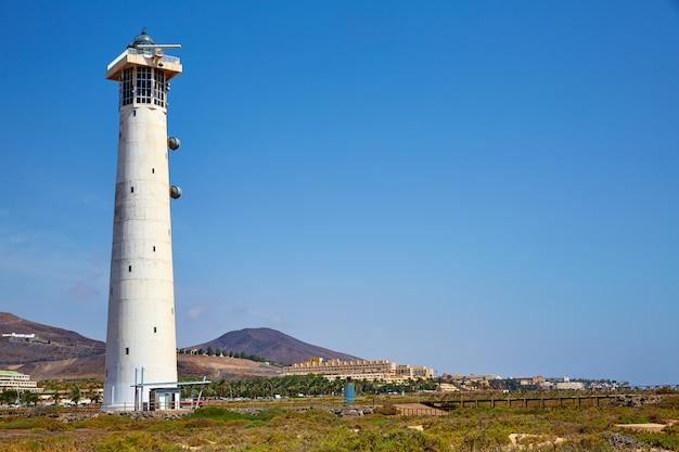Morro jable matorral leuchtturm jandia fuerteventura