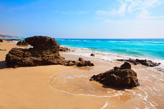 Morro jable strand fuerteventura kanarische inseln