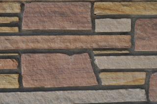 Mosaic pattern brick