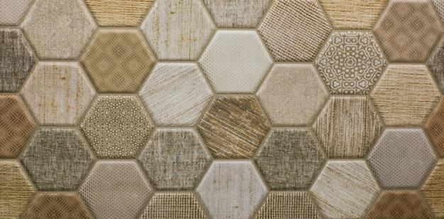 Mosaik abstrakte geometrische muster keramikfliese