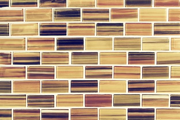 Mosaik gefliester hintergrund. getöntes bild