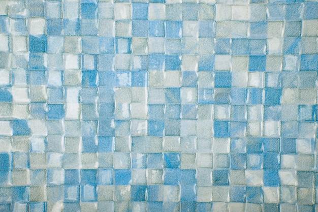 Mosaikfliesen texturhintergrund. klassische keramikfliesenwandbeschaffenheit für innenraum