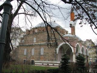 Moschee-banja baschi im 16. jahrhundert zu bauen.