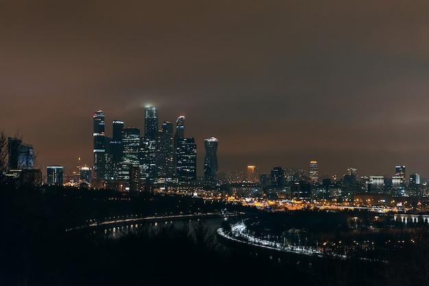 Moskau-stadt, internationales geschäftszentrum moskaus, russland
