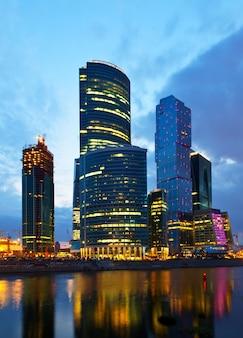 Moskauer geschäftszentrum