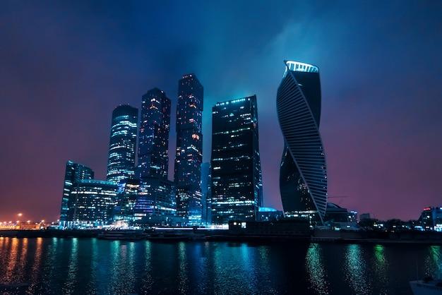 Moskauer internationales geschäftszentrum. russland