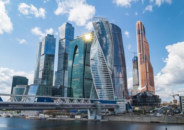 Moskauer internationales geschäftszentrum