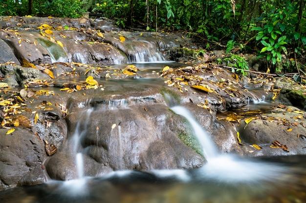 Motiepa wasserfall bei palenque in chiapas, mexiko