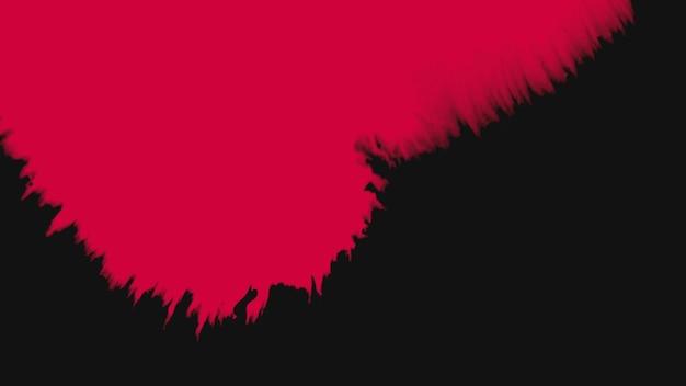 Motion abstrakte rote und schwarze spritzer, bunter grunge-hintergrund. eleganter und luxuriöser 3d-illustrationsstil für hipster- und aquarellvorlagen