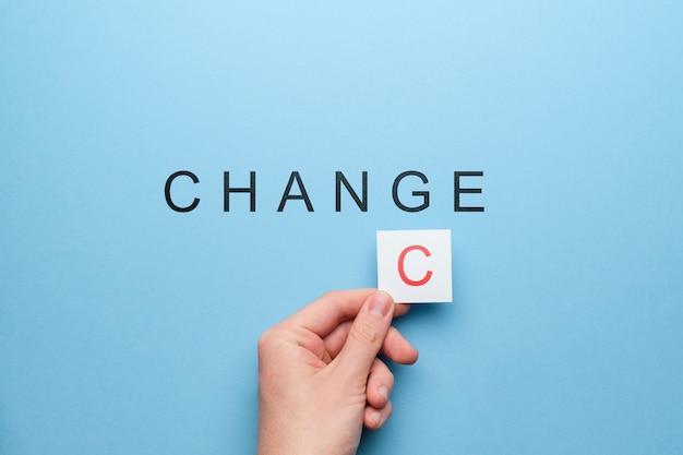 Motivationsmöglichkeit für neue veränderungen