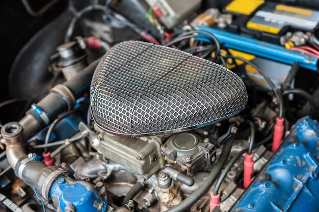 Motor eines alten autos