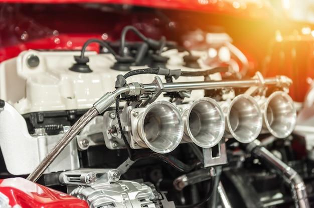 Motor eines hot rod