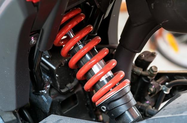 Motorrad-stoßdämpfer ein gerät zur absorption von stößen und vibrationen