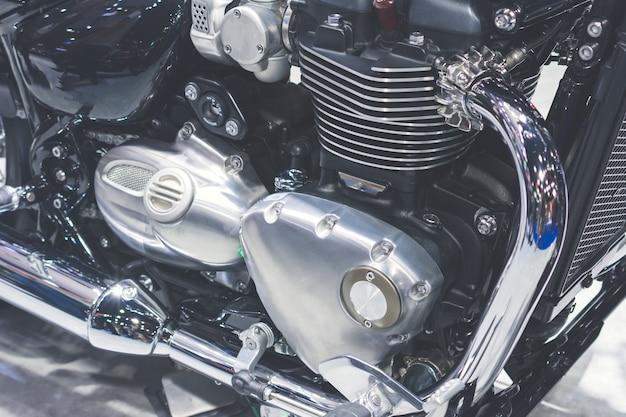 Motorradmotor, detail des motorradmotors.