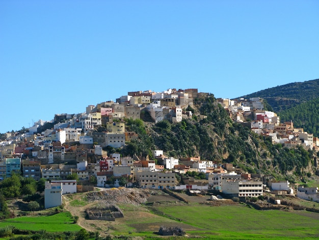 Moulay idriss zerhoun in marokko