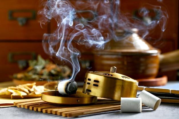 Moxibustion-box