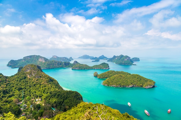 Mu ko ang thong nationalpark in thailand