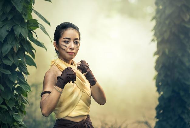 Muay thai, kampfsport (muay boran)