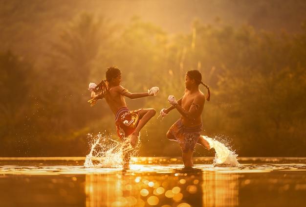 Muay thai, thai boxen